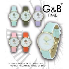 Reloj mujer G&B