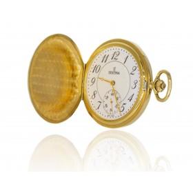Reloj Festina bolsillo oro...