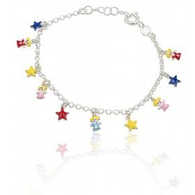 Pulsera niñas y estrellas...