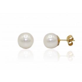 Pendientes perla cultivada...