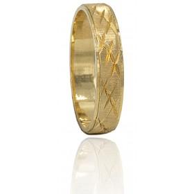 Alianza tallada oro 18...