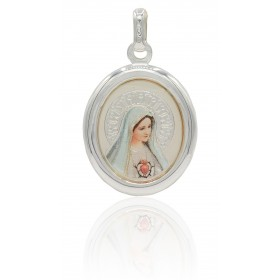 Medalla Virgen de Fátima...
