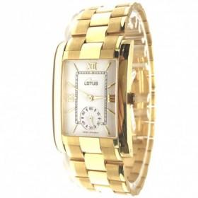 Reloj lotus señora oro 18...